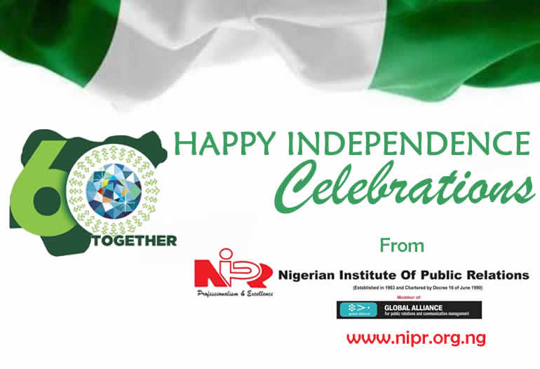 HAPPY INDEPENDENCE NIGERIA
